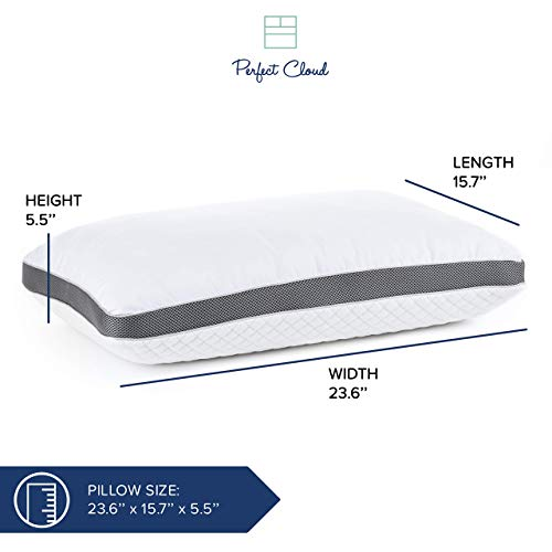 Perfect Cloud Ultraplush 10-Inch Memory Foam Mattress and Diamond Rest Memory Foam Pillow Bundle (RV Short Queen)