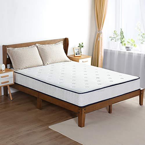 Olee Sleep 9 Inch Breeze Gel Memory Foam Innerspring Mattress, CertiPUR-US Certified, King