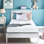 Tuankay 6 Inches Gel & Charcoal Infused Memory Foam Mattress – Medium Comfort(Twin