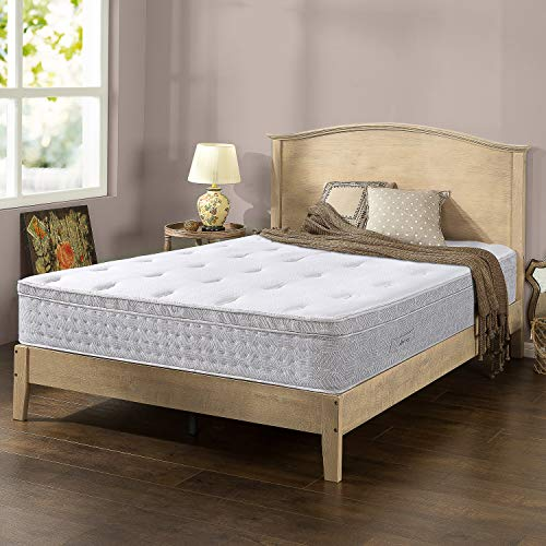 ZINUS Italian Made 12 Inch Pocket Spring Hybrid Mattress/Pressure Relief/Pocket Innersprings for Motion Isolation/Mattress-in-a-Box, Queen