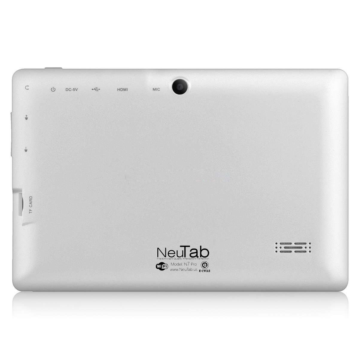 e7905eb4e93 NeuTab N7 Pro 7-inch Tablet PC Quad Core Google Android 4.4 KitKat, HD  1024×600 Display, Bluetooth, Dual Camera, Google Play Pre-loaded, 3D-Game  Supported ...