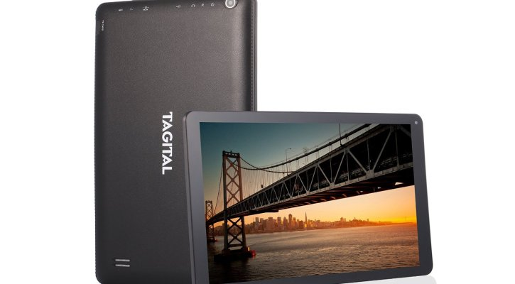 Tagital T10 Plus 10.1 inch Octa Core Android Tablet PC, Google Android 5.1 Lollipop 1GB RAM 16GB Nand Flash