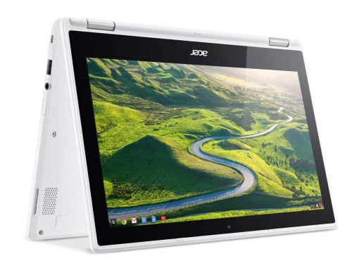 Acer Convertible Chromebook R11 CB5-132T-C32M 11.6 inch HD Touch Notebook (White)