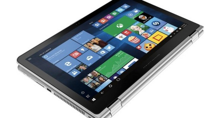 HP Envy Flagship x360 2-in-1 Convertible Tablet (Laptop) 15.6 inch Touchscreen, Windows 10, 6th Gen Skylake Intel Core i5-6200U, Full HD IPS Touch Display, 8GB DDR3, 1TB HDD, HDMI, Backlit Keyboard