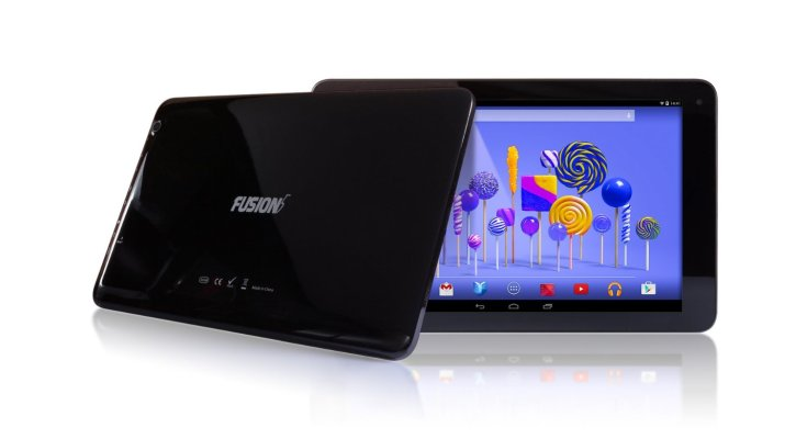 Fusion5 104 Android Tablet PC 10.1 inch, 32GB Storage, Google Android 5.1 Lollipop, Bluetooth 4.0, FM, 1280x800 IPS Screen, 5000mAh, 2MP Front and Rear camera, Supports OTA Updates