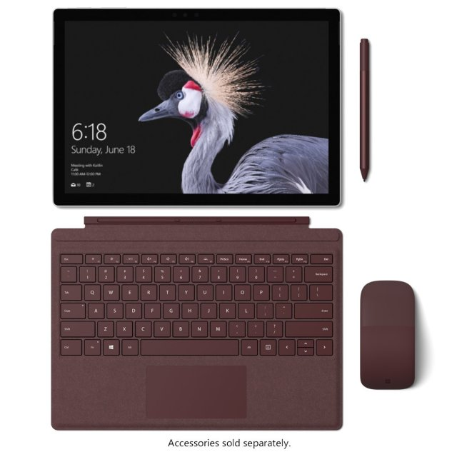 Microsoft Surface Pro 12.3 Inch, Intel Dual Core i7 4GHz