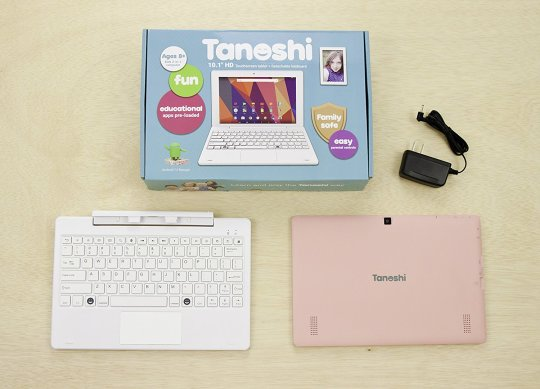 Tanoshi 2-in-1 Tablet for Kids ages 6-12