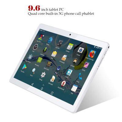 Kivors 3G Touch Tablet 9.6 Inch 3G Phone Call, Google Android 5.1