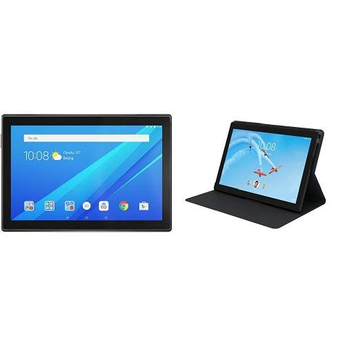13ac17bea4b 2018 Lenovo Tab 4 – Theater-Like Multimedia  Lenovo Tab 4 10-inch Android  Tablet has a vivid HD display with booming Dolby Atmos Audio and built-in  ...