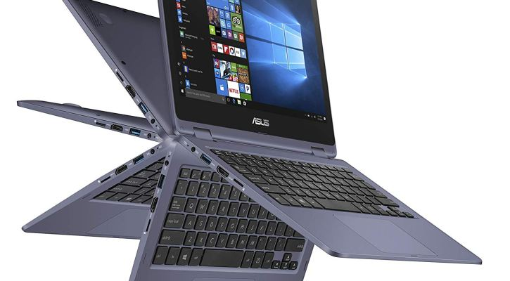 Read More Customer Reviews ASUS VivoBook Flip 2in1 Tablet Laptop Thin and Light, 11.6-inch HD Touchscreen, Intel Dual-Core Celeron N3350 CPU, 4GB RAM, 64GB eMMC Storage, Windows 10 in S mode, Office 365 - J202NA-DH01T