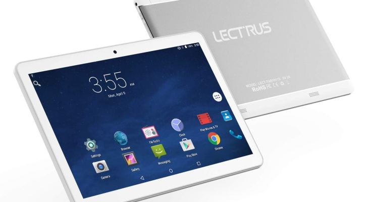 Read More Customer Reviews Lectrus Android Phone Tablet 10-inch 3G Phablet, Tablets PC 10.1-inch 1080P HD Display, Quad-Core, WiFi, Bluetooth, GPS, Silver