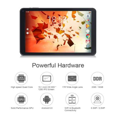 TOPELOTEK 10-inch Tablet PC Google Android Tablet