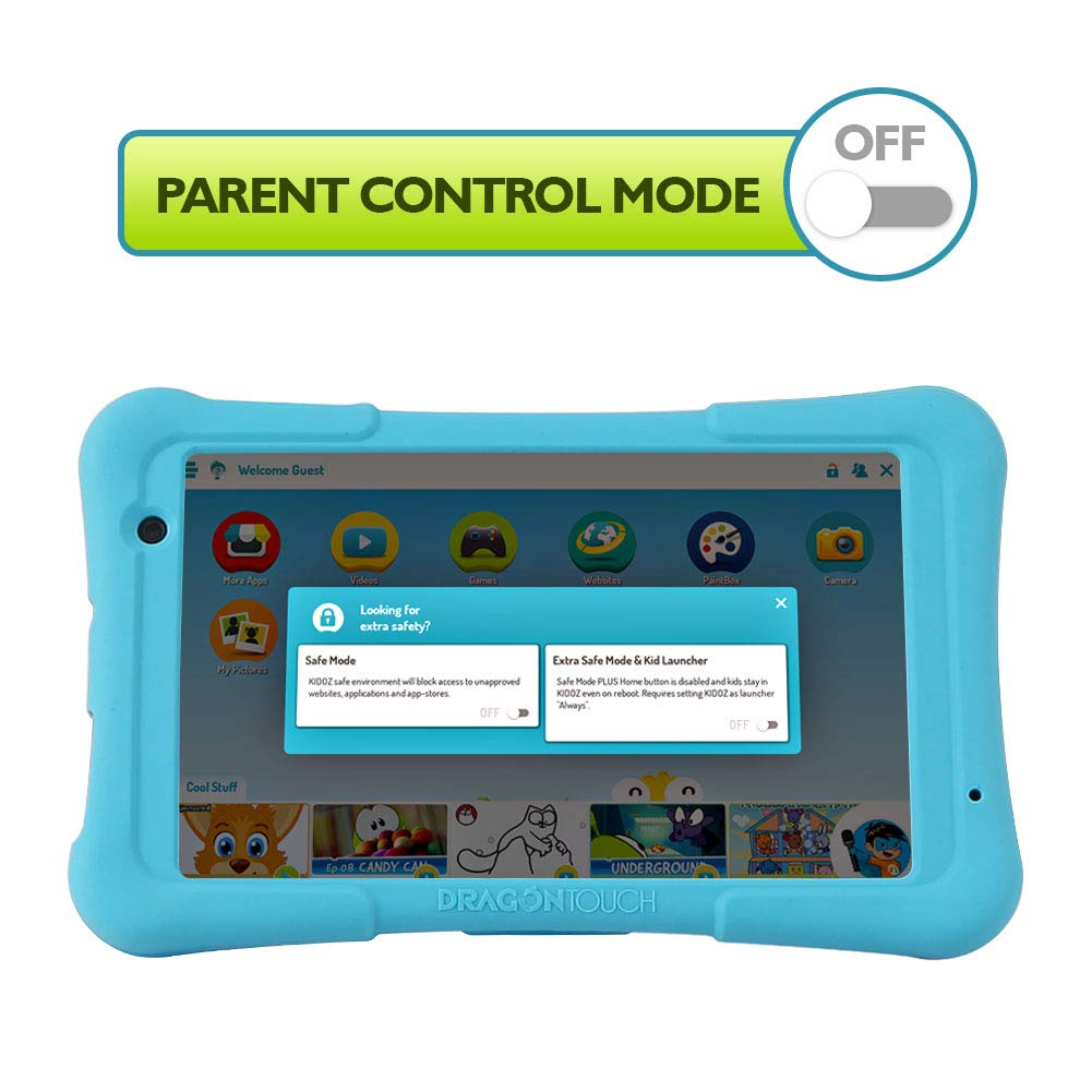 Dragon Touch Y80 Kids Tablet 8-inch Android Tablet - Best