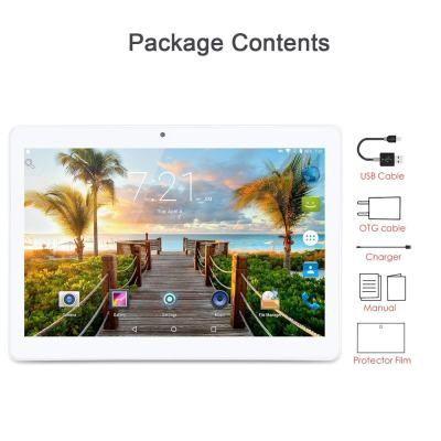 KuBi 10-inch Android Phone Tablet PC, Android 7.0, 1280x800 IPS, Octa-Core Android