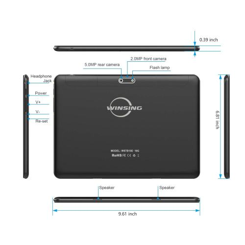 2019 winsing 10-inch android tablet