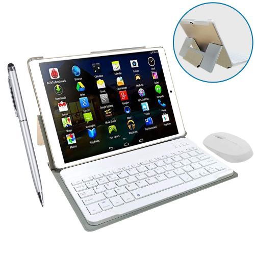 2019 DUODUOGO 10-inch Phone Tablet, Dual SIM 4G LTE WiFi Tablet with Keyboard