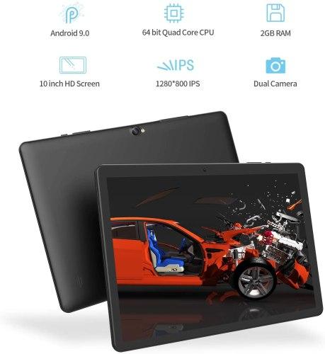 Vankyo MatrixPad Z4 10-inch Tablet, Android 9.0 Pie, 2GB RAM, 32GB Storage