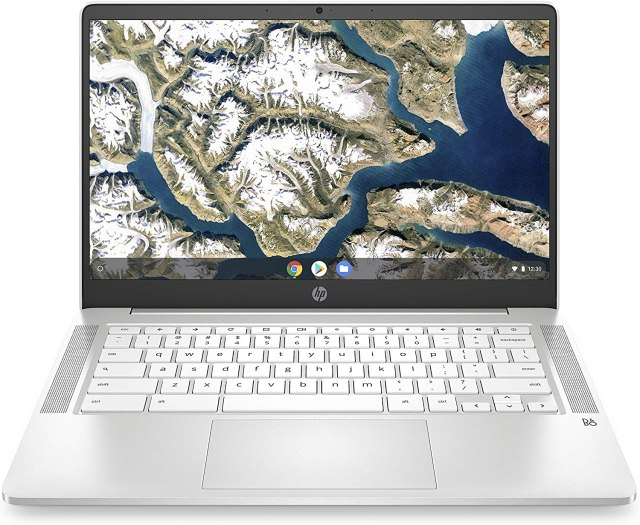 HP Chromebook 14-inch HD Laptop, Intel Celeron N4000