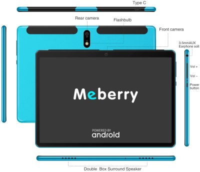 2020 MEBERRY 10-inch Android Tablet