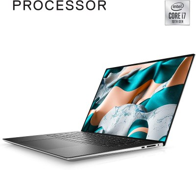 New Dell XPS 15 9500 15.6-inch UHD Plus Touchscreen Laptop (Silver)
