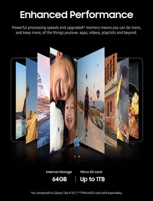 Samsung A7 Tablet 10.4 WiFi 64GB Silver