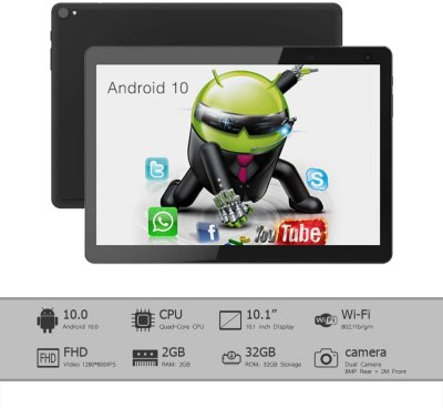 ASIUR-101 10-inch Android Tablet, Android 10.0