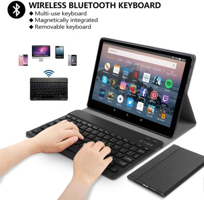 2021 DUODUOGO 2-in-1 Tablet 10-inch Android Tablet