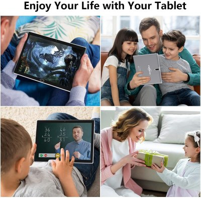 FEONAL 10-inch 4G Phone Tablet, Android 10 Tablet
