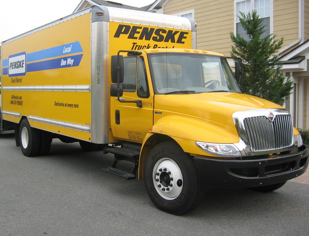 Penske 12 Foot Truck Rent A Cargo Van