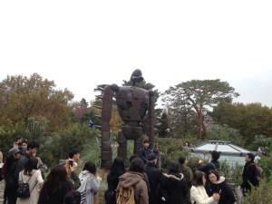 Laputa robot at Ghibli Museum