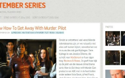 Gastrecensie How to Get Away with Murder Pilot + introductie nieuwe pagina: Gastblogs