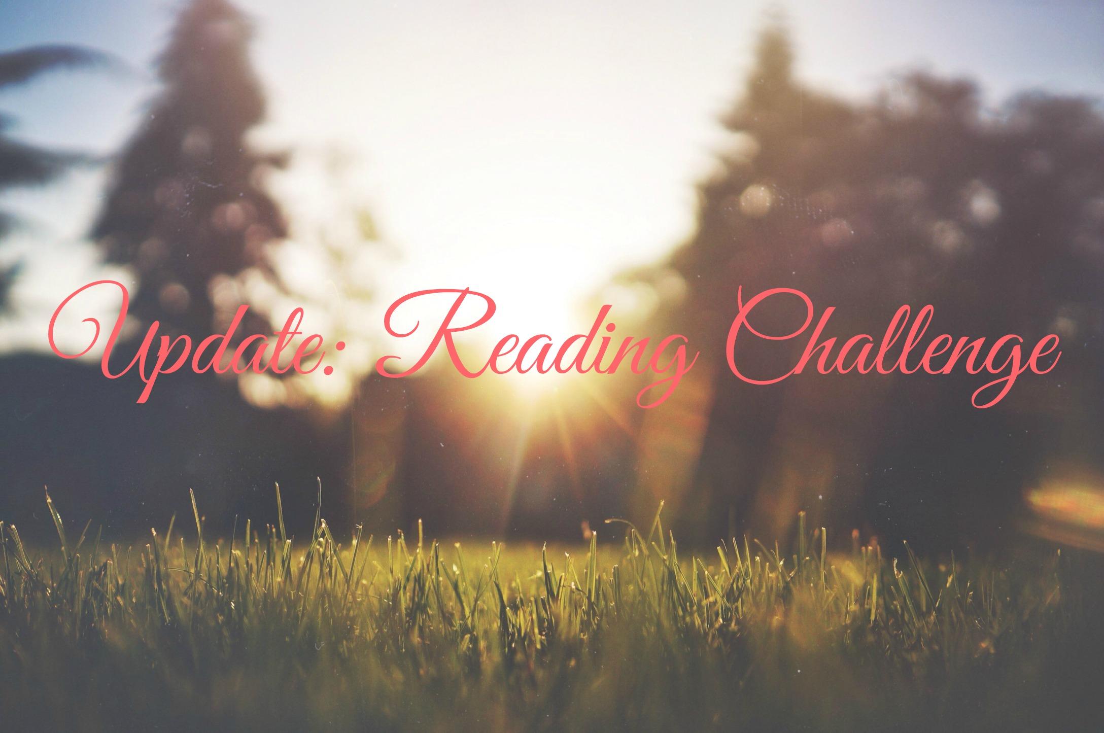 Reading Challenge Update #2 | Gehaald!