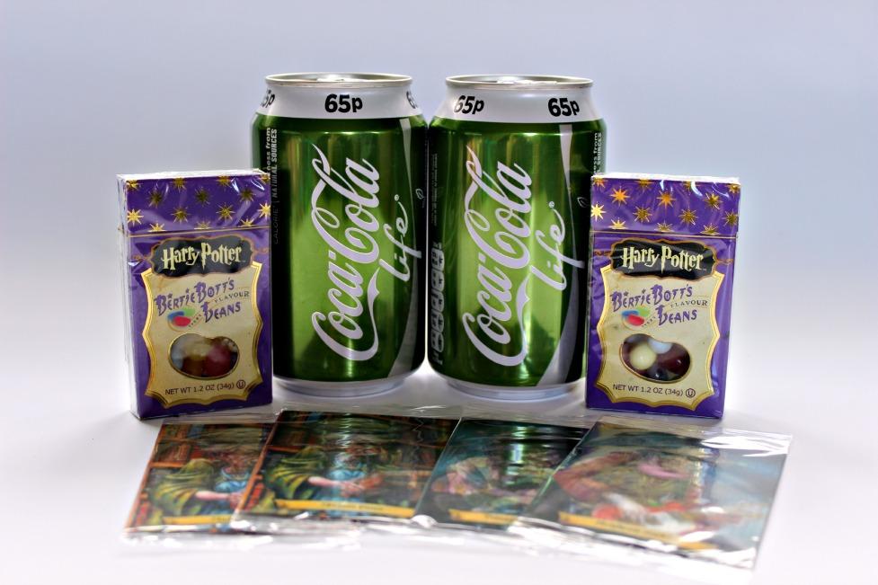 Winnen  Coca-Cola Life en Harry Potter snoep!