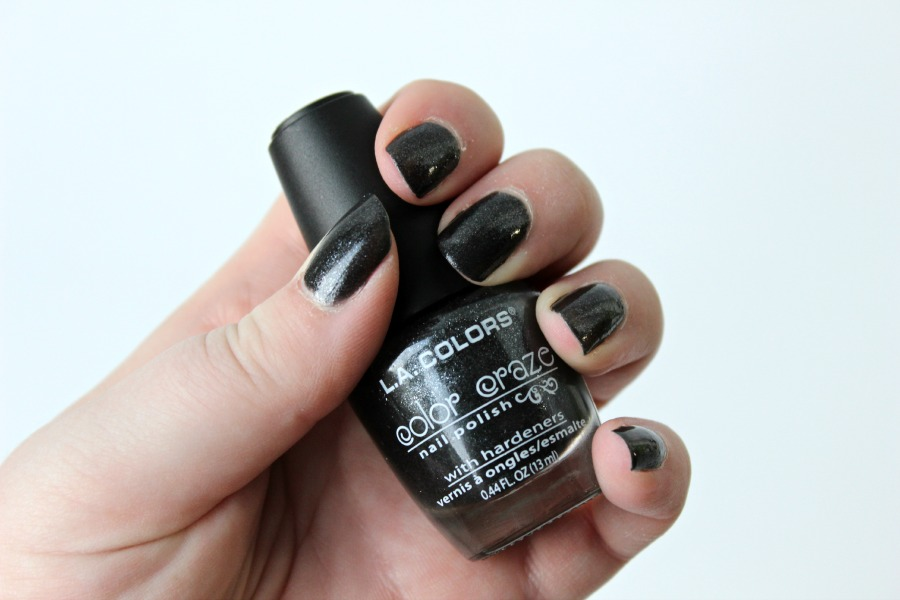 L.A. Colors - Nail Lacquer - Black Pearl