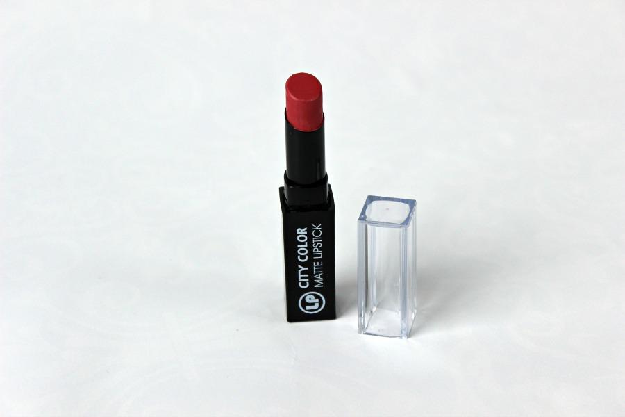 City Color - Matte Lipstick (kleur nr. 3 Juicy Melon) - €2,50