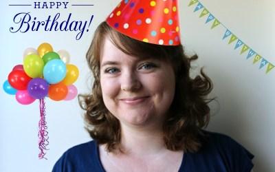 Vandaag is mijn verjaardag!