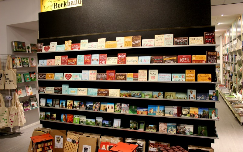 Boekhandel Van der Velde Groningen A-Kerkhof - kaarten