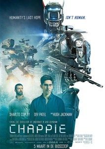 Chappie poster