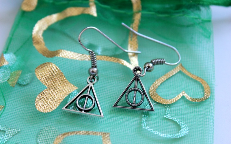 Harry Potter and the Deathly Hallows oorbellen