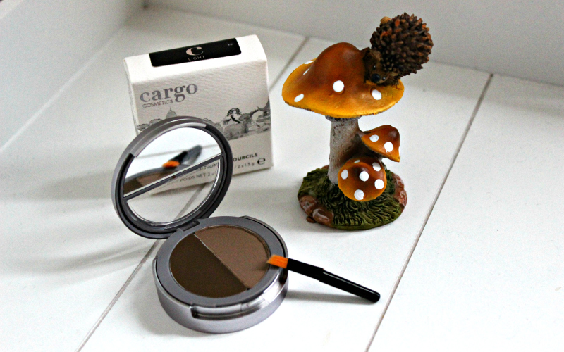 StyleTone Box oktober - Cargo Cosmetics Brow Kit