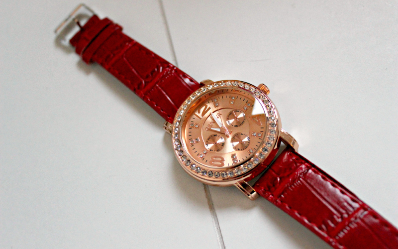 Ik ben sieraden - Gouden horloge
