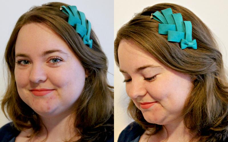 Ik ben sieraden - Haarband met strik