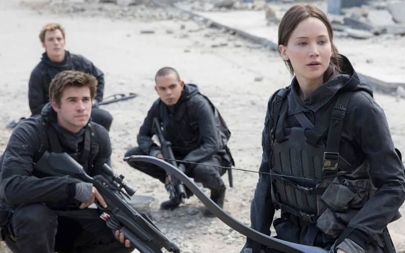 The Hunger Games Mockingjay part 2 still