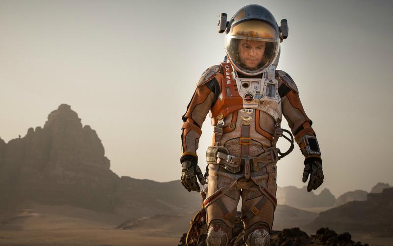 The Martian still