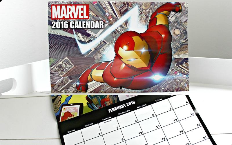 Marvel Calendar 2016