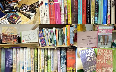 Ook je tweedehands boeken koop je bij Jouw Marktkraam