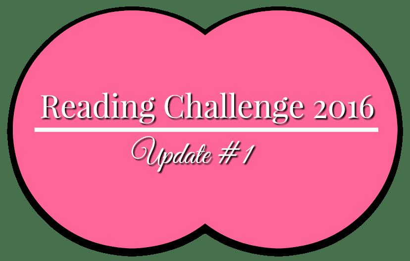 Reading Challenge 2016 Update 1