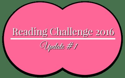 Reading Challenge 2016 – Update #1