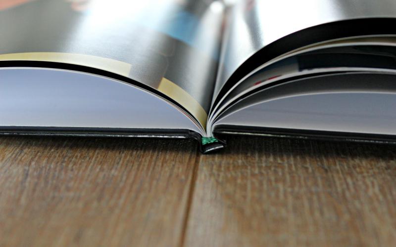 Fotoboek zijkant