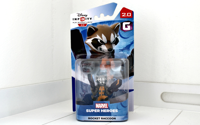 Rocket Raccoon Figure - Disney Infinity